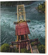 Niagara Falls The Whirlpool Wood Print