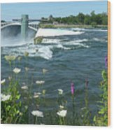 Niagara Falls Usa - Photo Wood Print