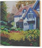 Niagara Garden Wood Print