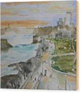 Niagara In Spring Wood Print