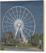 Niagara Skywheel Wood Print
