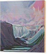 Niagara Thunder 1 Wood Print