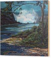 Niagara Thunder Series 6 Wood Print