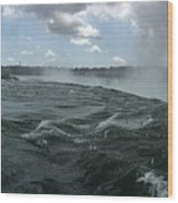 Niagra Wood Print