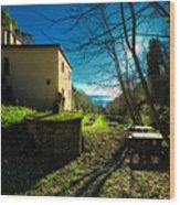 Niasca Hermitage I Portofino Park Passeggiate A Levante Wood Print