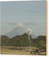 Nicaragua Landscape Wood Print