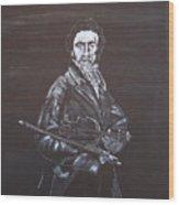 Niccolo Paganini Wood Print