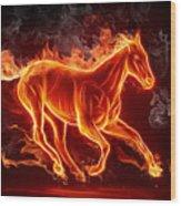 Nice Horse 3d Wood Print