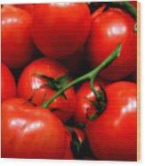 Nice Tomatoes Baby Wood Print