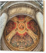 Niche Inlay 2-our Lady Of Victory Basilica Wood Print