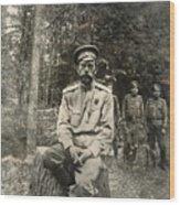Nicholas II (1868-1918) Wood Print