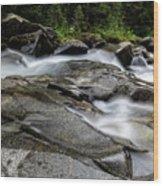 Nickel Creek Wood Print