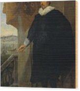 Nicolaes Van Der Borght, Merchant Of Antwerp Wood Print