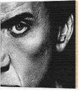 Nicolas Cage Wood Print