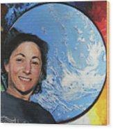 Nicole Stott Wood Print