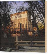 Nidera Wood Print