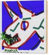 Nietzsche Poster Wood Print