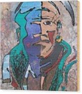 Nigel The Guardian Wood Print
