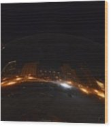 Night At Cloud Gate Wood Print