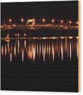 Night Crossing Wood Print