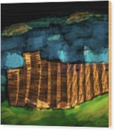 Night #g7 Wood Print
