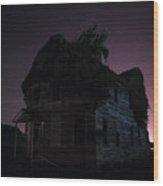 Night House Wood Print