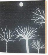 Night Of Lights Wood Print