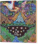 Night On The Magic Carpet Wood Print