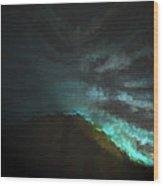 Night Scene 2 Wood Print