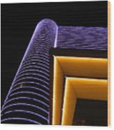 Night Shot - Borgata Wood Print