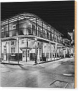 Night Time In The City Of New Orleans I Wood Print by Tony Reddington