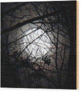 Nightfall Wood Print