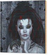 Nightmare Wood Print