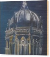Nights Of Lights Presbyterian Memorial Church St Augustine Florida  Wood Print