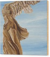 Nike Goddess Of Victory Wood Print