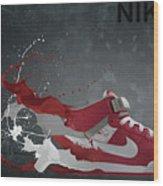 Nike Id Wood Print