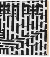 Nike Maze Wood Print