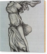 Nike Of Samothrace Wood Print