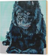 Nikki The Chow Wood Print
