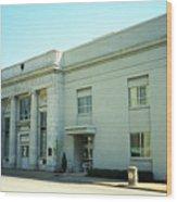 Niles, Ohio - Vintage Bank Wood Print