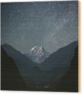 Nilgiri South (6839 M) Wood Print