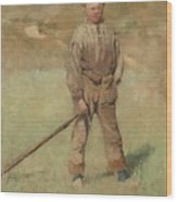 Nils Kreuger, 1858-1930, Young Boy, Scene From Holland. Executed In July-august 1883 Wood Print