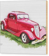 Nineteen Thirty-two Ford Coupe Wood Print