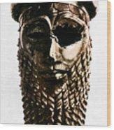 Nineveh: Bronze Head Wood Print