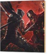 Ninja Gaiden 3 Wood Print