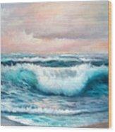Ninth Wave Wood Print
