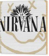 Nirvana No.06 Wood Print by Caio Caldas