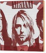 Nirvana Tribute Wood Print
