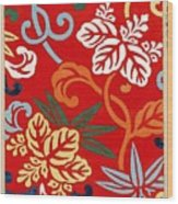 Nishike Brocade With Paulownia Arabesque Wood Print
