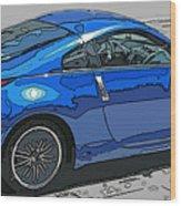 Nissan Z Car Wood Print by Samuel Sheats